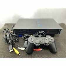 SONY PS2 PlayStation 2 SCPH-30000 Black Game Console Japanese NTSC-J (Japan)