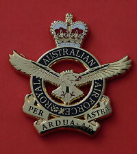 ROYAL AUSTRALIAN AIR FORCE QC SMALL SIZE FOR PLAQUES FRAMING DISPLAY 45MM HIGH