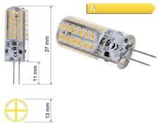 5 Stück 3W - G4 LED Birne Lampe Leuchtmittel warmweißes Licht SMD Stiftsockel