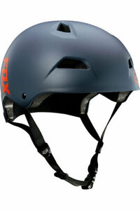 New Fox Racing Flight Sport Mountain Bike Helmet Blue Steel Size Small Trail