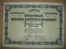 Rhombus Verlags AG Wien 1924