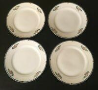 """(4) Noritake SHERIDAN 7 1/2"""" Salad Plates"""