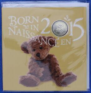Canada 2015 - Born in Canada Baby Gift Uncirculated Set - Teddy Bear Loonie