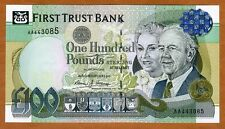 Ireland Northern, First Trust Bank, 100 pounds, 1998, P-139b, UNC > Armada