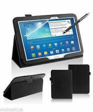 Custodie e copritastiera nera in pelle per tablet ed eBook