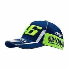 OFFICIAL Moto GP VR46 MENS Valentino Rossi Team Yamaha 46 Cap Hat – NEW
