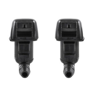 Front Left Right Spray Windshield Washer Wiper Nozzle For Lincoln MKX 2011-2015