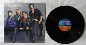 "BOB SEGER & The Silver Bullet Band ""Like A Rock"" 1986  (Capitol/PT12398) VG+/EX!"