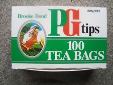 New Zealand Brooke Bond PG Tips Tea Packet 100 Tea Bags  EMPTY
