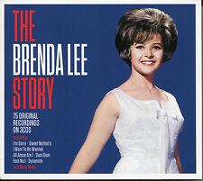THE BRENDA LEE STORY - 3 CD BOX SET - I'M SORRY, DYNAMITE & MANY MORE