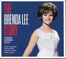 THE BRENDA LEE STORY - 3 CD BOX SET - I'M SORRY, DYNAMITE & MANY MORE
