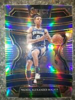 2019-20 Panini Select Concourse Silver Prizm Rookie RC Nickeil Alexander-Walker