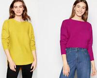 Debenhams Principles Womens Scoop neck Dolman Long sleeves Jumper Sweater Top