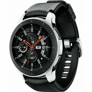 Samsung Galaxy Watch SM-R800 46mm Silver Smartwatch Bluetooth WiFi New Sealed
