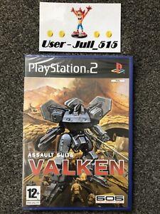 Playstation 2 Game: Assault Suits: Valken (Superb Sealed Condition) UK PAL PS2