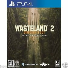 Wasteland 2: Director's Cut SONY PS4 PLAYSTATION 4 JAPANESE NEW JAPANZON