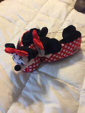 NEW KIDS DISNEY JUNIOR MINNIE MOUSE POLKA DOT SLIPPERS SHOES SIZE 7/8 7 - 8