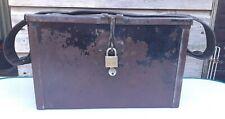 vintage metal box , ideal tool box