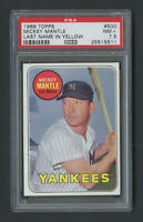 1969 Topps Mickey Mantle #500 HOF PSA 7.5 - High End