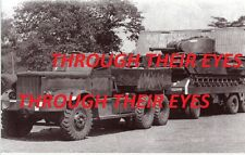 DVD SCANS WW2 PHOTO ALBUM TANKS  RECOVERY TRUCKS DIAMOND T TRANSPORTERS IN INDIA