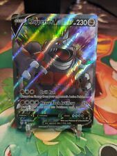 Rhyperior V 181/189 Darkness Ablaze Full Art Ultra Rare Pokemon Card NM