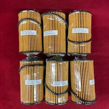 Set of 6: Oe Spec Engine Oil Filters & Gaskets For Gm Numbers Pf2257G 55594651