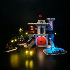 LED Light Kit For LEGO 10263 Creator Winter Village Fire Station building set