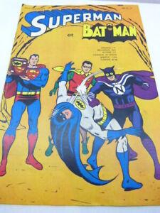 SUPERMAN AVEC BATMAN , N°10 , 1968 (eta2)
