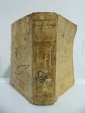 Importante piena pergamena di quasi 4 secoli_Opera completa dei fratelli Amalteo