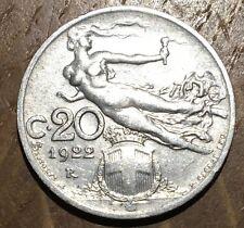 PIECE DE 20 CENTESIMI D'ITALIE 1922 R (159)
