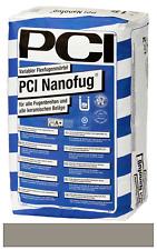 PCI Nanofug Flexfugenmörtel für Steingut- und Steinzeugbeläge zementgrau 15 kg