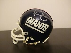 Phil Simms & Lawrence Taylor Autographed Signed Mini Helmet - New York Giants