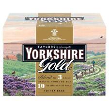 Taylor's of Harrogate Yorkshire Gold Tea Bags 160 per pack - Pack of 6
