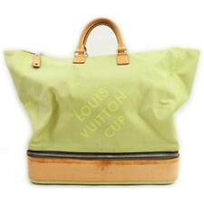 Louis Vuitton Lime Damier Geant LV Cup Southern Cross Sac Sport Travel Bag