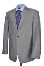 HUGO BOSS Recent Solid Gray MOHAIR WOOL Jacket Pants SUIT Mens - 40 R