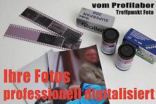 100 Kleinbild Dias oder Negative digitalisieren scannen auf CD/DVD vom Fachlabor