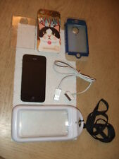 Apple iPhone 4s - 16GB - Black (Verizon) A1387 (CDMA + GSM) Bundle WP Case More