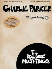 Charlie Parker Play-Along Donna Lee Anthropology PIANO GUITAR SAX Music Book 4
