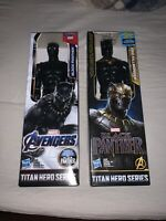 Hasbro Black Panther And Killmonger 12 inch Action Figures