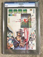 1985 JACKIE CHAN The Protector #12 CGC Graded RARE Hong Kong CHINESE Comic Book