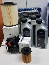 KIT TAGLIANDO 4 FILTRI ORIGINALE 5 LT OLIO FORD 5W30 C MAX II FOCUS III 1.5 TDCI