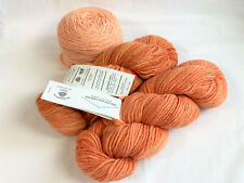 Steadfast Fibers wonderful wool yarn 3 skeins different colors and dye lots