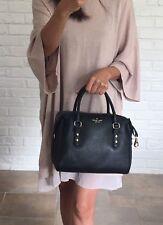 NWT Kate Spade Julianne Mulberry Street Pebbled Leather Crossbody Satchel Black