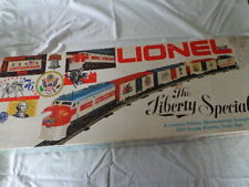 LIONEL 027 THE LIBERTY SPECIAL BICENTENNIAL ELECTRIC TRAIN SET