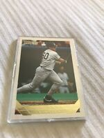 1993 Topps Gold #422 JT Snow New York Yankees Rookie Baseball Card