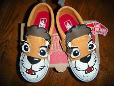 Toddler Boys' VANS ASHER V LION Slip-on Sneakers size 10 (NEW)
