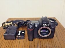 Nikon D70s Digital SLR 6.1 MP Body w/ Charger & Battery, Strap Bundle VGC!!