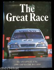 The Great Race No. 18 Official Book 1998 AMP Bathurst 1000 Mt Panorama Chevron