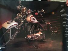 Harley Davidson Heritage Springer Collectible Poster 1997 FLSTS