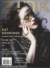 Zink magazine Kat Dennings Timeflies Raphael Young footwear Travel getaways